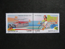 Monaco:  TB Paire  N° 2870 Et N° 2871 , Neufs XX . - Ongebruikt