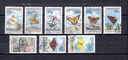 Checoslovaquia   1961   .-  Y&T  Nº     1184/1192 - Gebraucht