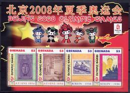 Olympics 2008 - Mascot - Rowing - GRENADA - S/S MNH - Summer 2008: Beijing