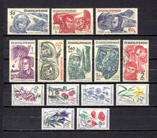 Checoslovaquia   1964   .-  Y&T  Nº     1331/38-1339/44 - Gebraucht