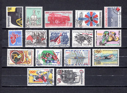 Checoslovaquia   1964   .-  Y&T  Nº     1345-1346-1347-1348-1349-1350-1351/53-1354/59-1360 - Used Stamps