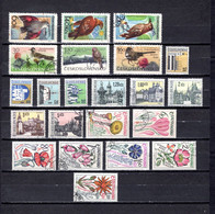 Checoslovaquia   1965   .-  Y&T  Nº     1433/38-1439/47-1448/54 - Gebraucht