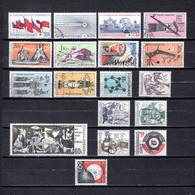 Checoslovaquia   1966   .-  Y&T  Nº     1489/91-1492/98-1499-1500-1501/04-1505-1506 - Gebraucht