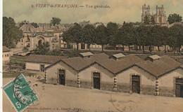 SO 16-(51) VITRY LE FRANCOIS - VUE GENERALE - CARTE COLORISEE - 2 SCANS - Vitry-le-François