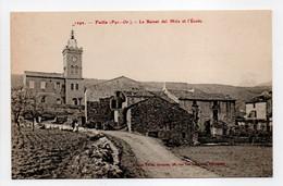 - CPA FUILLA (66) - Le Beinat Del Mitx Et L'École - Edition Brun 1292 - - Sin Clasificación