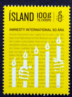 Iceland 2011; 50 Years Amnesty International  - Michel 1330.** (MNH) - Neufs