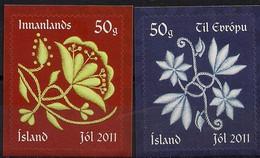 Iceland 2011; Christmas, Michel 1338-1339.** (MNH) - Nuovi