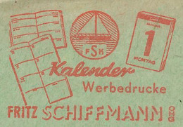 Meter Cut Germany 1955 Calendar - Book - Non Classificati