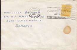 90847-  QUEEN'S SILVER JUBILEE SPECIAL POSTMARK ON COVER, QUEEN ELISABETH 2ND STAMP, 1977, UK - 1952-.... (Elisabetta II)