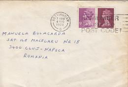 90848- QUEEN ELISABETH 2ND STAMPS ON COVER, 1978, UK - 1952-.... (Elisabetta II)