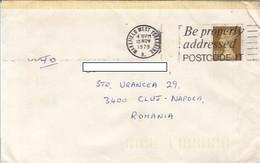 90852- QUEEN ELISABETH 2ND STAMP ON COVER, 1979, UK - 1952-.... (Elisabetta II)