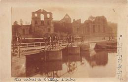 GOZÉE (Hainaut )Abbaye D'Aulne - CARTE PHOTO 20 Mai 1924 - Andere