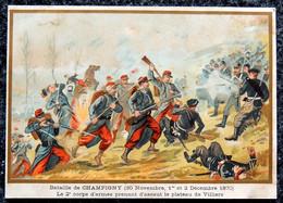 Image Pédagogique A. BELLIER  - Guerre De 1870 - N° 29 Bataille De CHAMPIGNY - 1 Décembre 1870  Illustrateur G. GERMAIN - Otros