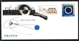 SAINT-GIBRIEN (51) - ECLIPSE DE SOLEIL - Roland IROLLA - - Non Classés