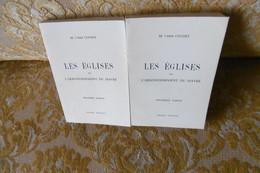Abbé COCHET : Les EGLISES De L'ARRONDISSEMENT Du HAVRE , 2 Vol. Fac-simile 1977 . RARE !! - Normandie