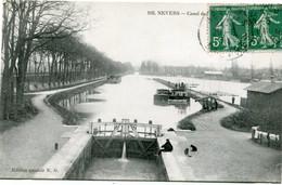 NEVERS - CANAL - - Nevers