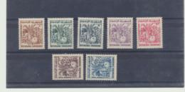 75 à 81  Neufs Sans Charnieres - Postage Due
