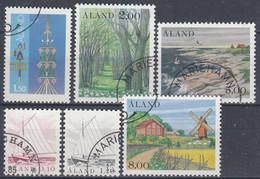 +B1831. Åland 1985. Year Set. Michel 8-13. Cancelled. - Aland