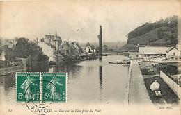 50 - Saint Lo - Vue Sur La Vire Prise Du Pont - Oblitération Ronde De 1908 - CPA - Voir Scans Recto-Verso - Saint Lo