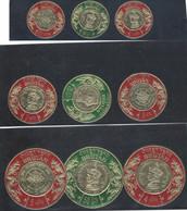 Buthan - 1966 - Nuovo/new MNH - Circle - Mi N. 86/94 - Bhutan