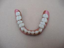 Ancien Appareil Dentaire Dents Prothèse De Dentiste - Medical & Dental Equipment