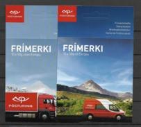 2013 MNH Iceland, Europa Postfris - Cuadernillos/libretas