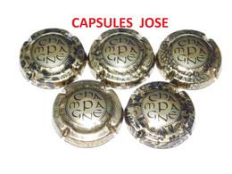 Série De 5 Capsules De Champagne  - GENERIQUE (Elégance - Septembre 2020) - Colecciones