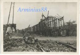 France, 1940 - Chaumont, Haute-Marne - Train De Munitions - Luftwaffe - Aufklärungsgruppe 11 - Wehrmacht - Westfeldzug - Guerra, Militares