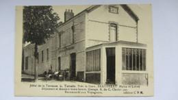 CPA Ancienne , BEAUPREAU , Café , Hotel  . - Cholet