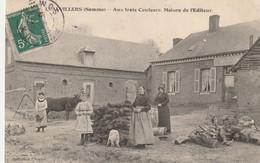 LEALVILLERS, Café Aux Trois Couleurs, Maison De L'Editeur 1912 - Otros Municipios