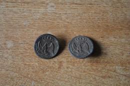 2 Boutons Garde Impériale Premier Empire Napoleon I - Knoppen