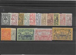 NOUVELLE CALEDONIE N°88/104 Sauf 95  NEUF* - Unused Stamps