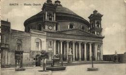 MALTA: MUSTA CHURCH. MALTA. - Malta
