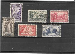NOUVELLE CALEDONIE N° 166/171 NEUF* - Unused Stamps