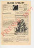 Grand Téléscope Observatoire De Paris Lanterne Magique Invention Du Père Kercher En 1645 Jésuite Optique 231CH27 - Non Classés