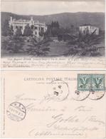 STRESA - VERBANIA - PALAZZINA DUCALE - VIAGG.1905 -4212 - Verbania