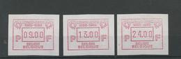 ATM 62 **.  CONGO ZAIRE 1986 = 100 Ans         Cote 25,- € - Viñetas De Franqueo