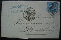 Valenciennes 1871 L. Dupont & Cie 20 Centimes Cérès émission De Bordeaux - 1849-1876: Klassik