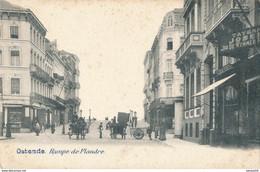 BELGIQUE : OSTENDE - Oostende : Rampe De Flandre - Oostende