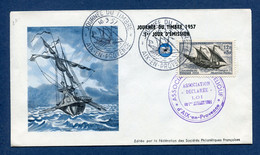 ⭐ France - FDC - Premier Jour - Journée Du Timbre - Paris - 1957 ⭐ - 1950-1959