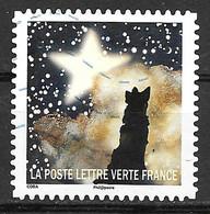 FRANCE 1331 Correspondances Planétaires .Loup Observant Une étoile . - Adhesive Stamps