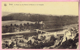 Yvoir - La Meuse Vue Des Rochers De Warenne Et De Champalle - 1925 - Yvoir