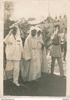 Photographie Originale : Maroc - Manifestation Officielle En Présence De Thami El Glaoui (BP) - Guerra, Militari