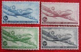 Luchtpost Poste Aérienne 1946 OBP PA/LP 8-11 (Mi 751-754) POSTFRIS /MNH ** BELGIE BELGIUM - Posta Aerea