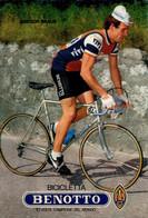 CICLISMO-GREGOR BRAUN-BICICLETTA BENOTTO-10 VOLTE CAMPIONE DEL MONDO- - Wielrennen