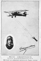 Thème  Aviation  Parachutisme   René  Granveaud   Aviateur Parachutiste     (voir Scan) - Paracaidismo