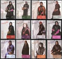 Jordan 2015, National Dresses, MNH Stamps Set - Jordania