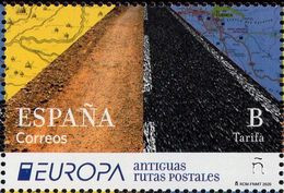 Spain - 2020 - Europa CEPT - Ancient Postal Routes - Mint Stamp - 1931-Oggi: 2. Rep. - ... Juan Carlos I