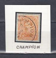 Nr 135 Gestempeld CHAMPION - 1915-1920 Albert I.