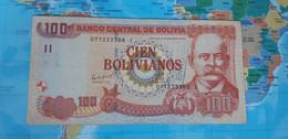 BOLIVIA 100 BOLIVIANO 2011 P 241 Face Value SERIE I Used UNDER VACE VALUE - Bolivia